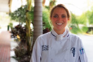 Chef Jennifer Denlinger at the 2010 Florida Strawberry Harvest Tour