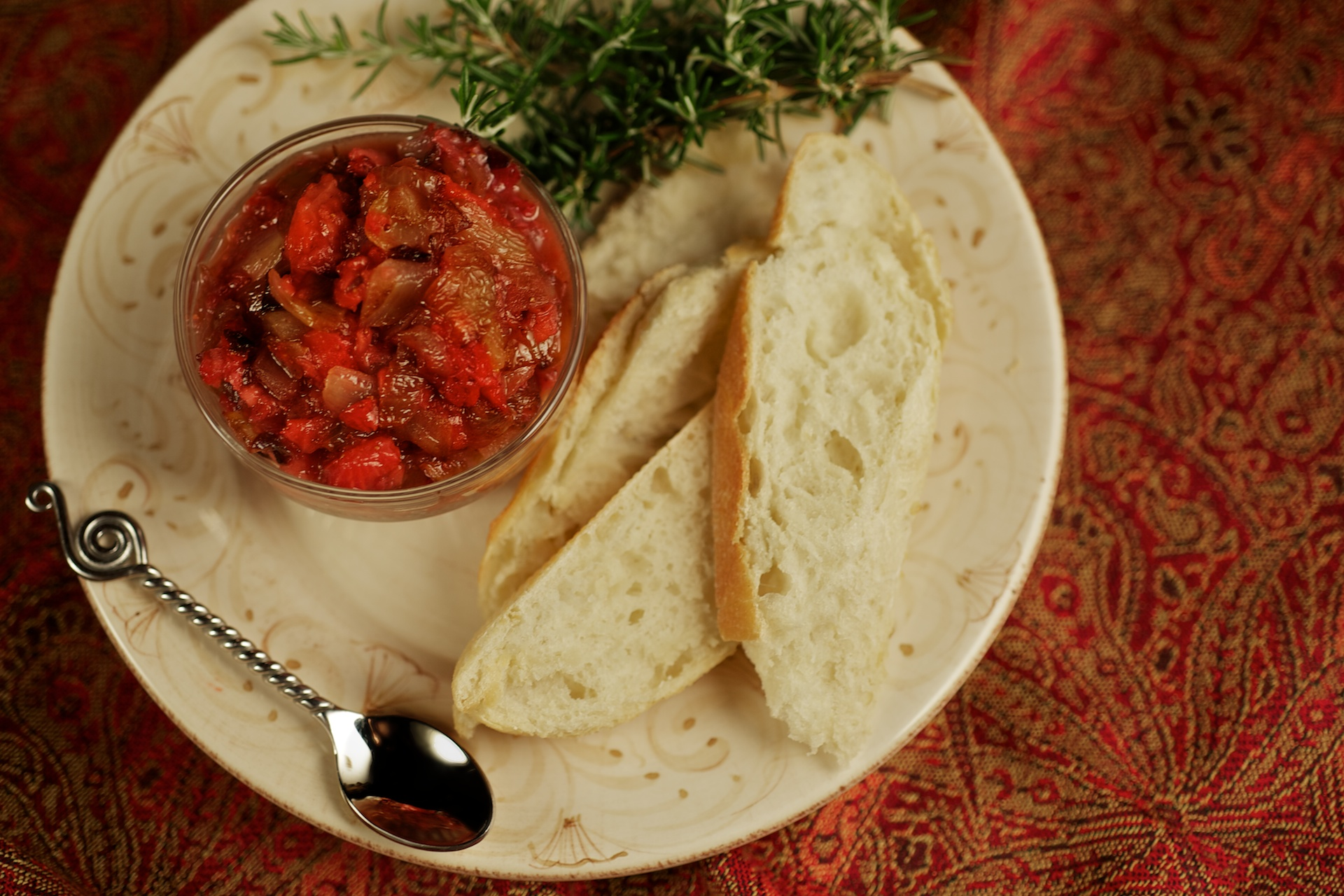 Florida Strawberry Sweet Onion Relish