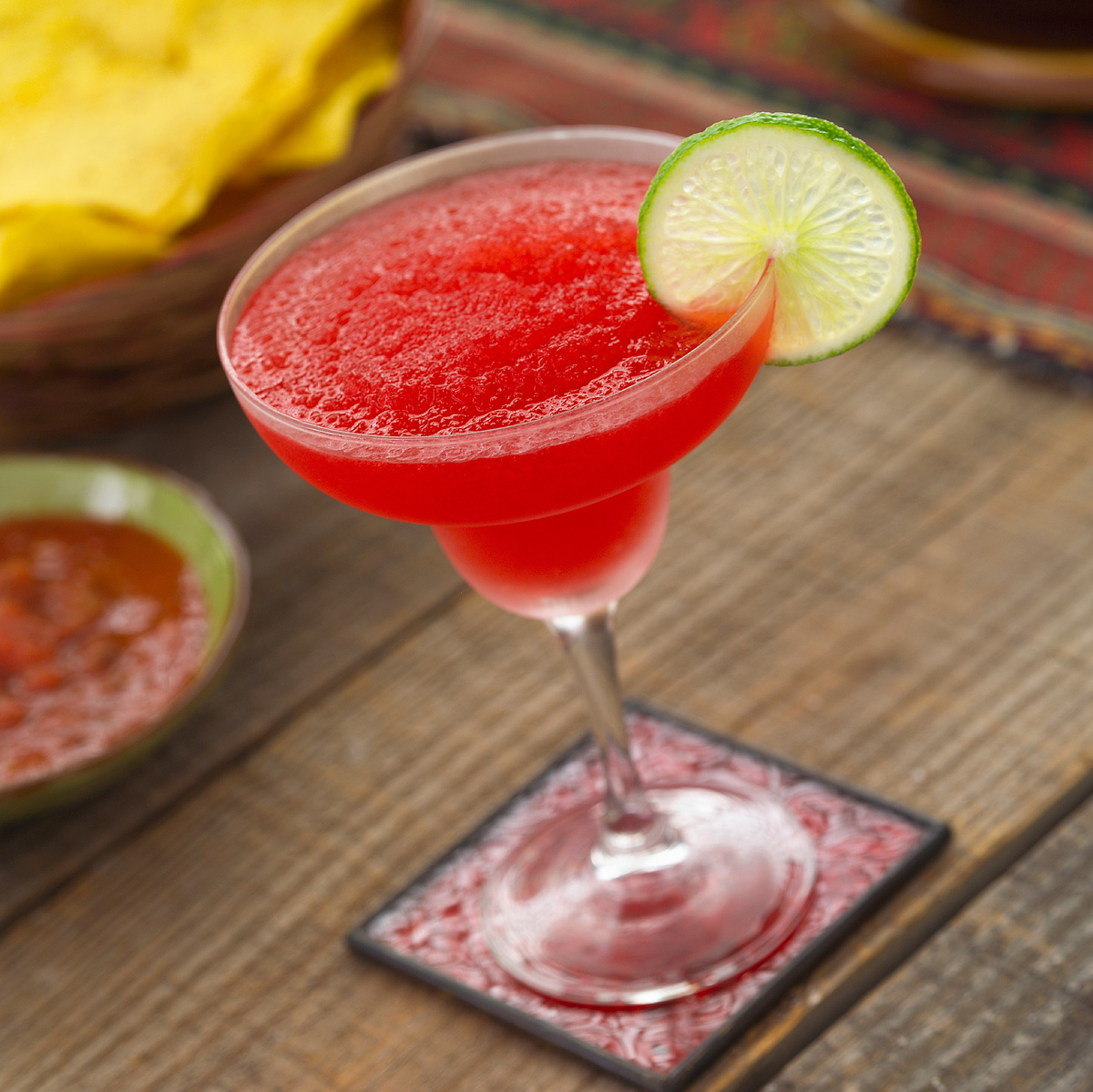 Blanca Aldaco's Strawberry Margarita