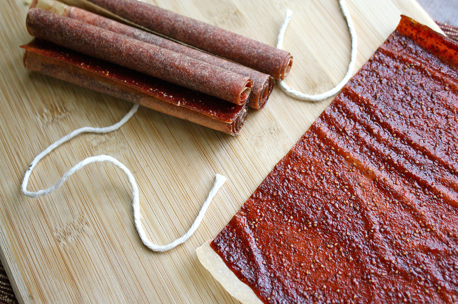 Florida Strawberry Basil Fruit Leather