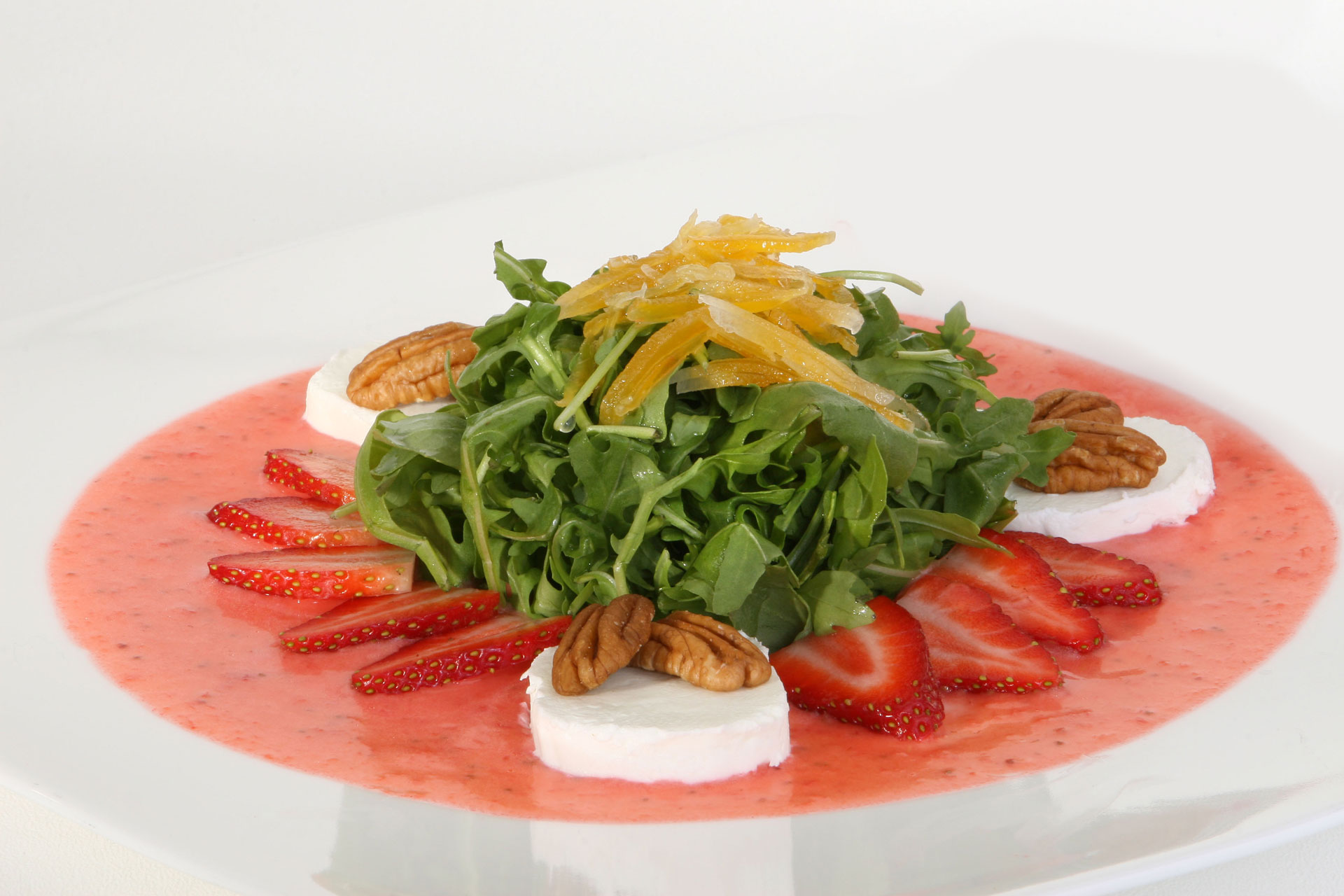 Florida-Winter-Strawberry-Salad-with-Pecans-Goat-Cheese
