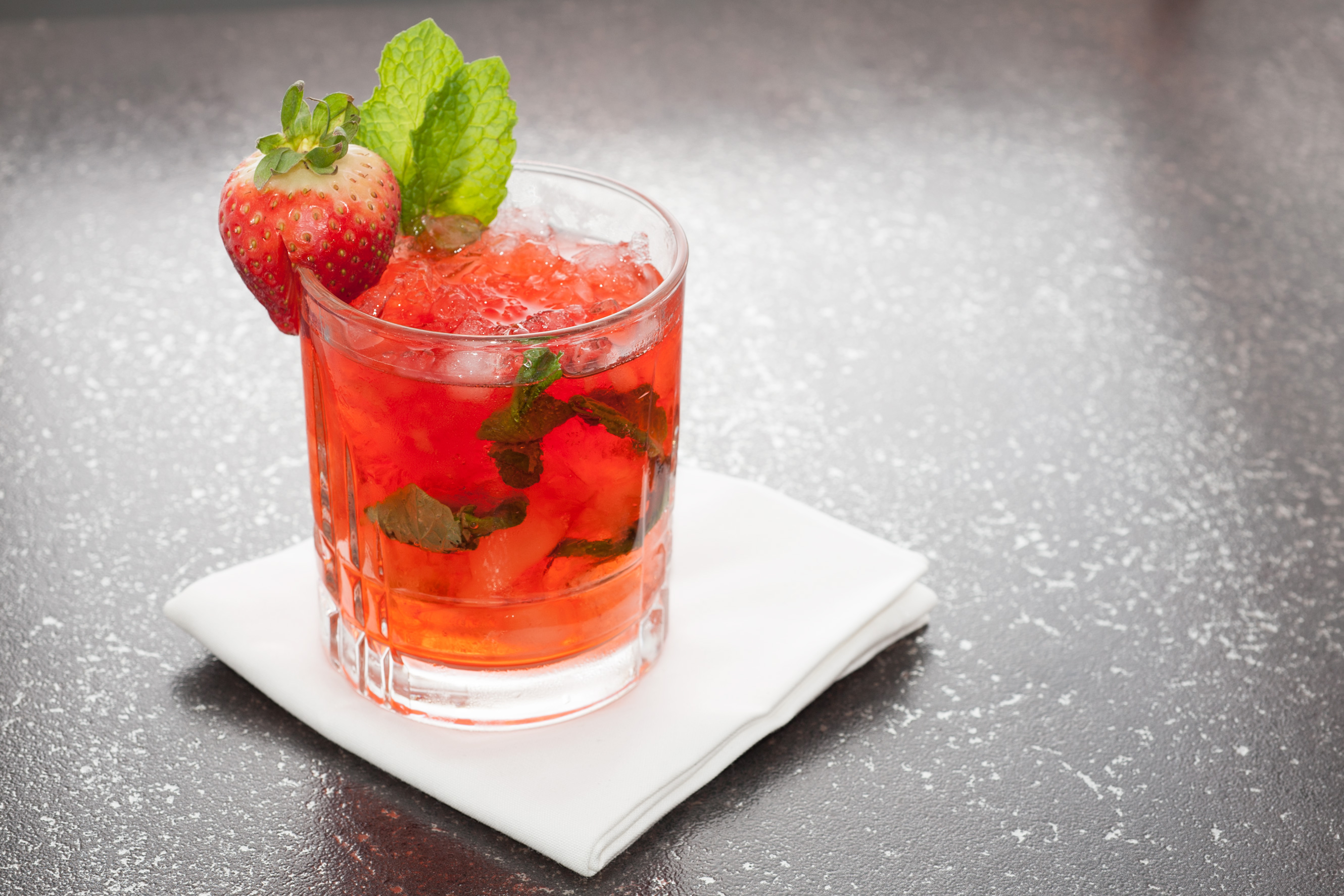 Try this refreshing Florida Strawberry Mint Julep